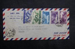 VIET-NAM - Enveloppe Commerciale De Hanoï Pour La France En 1953, Affranchissement Plaisant - L 33354 - Vietnam