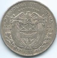 Panama - ¼ Balboa - 1961 - KM25 - Panama