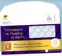 2019  Phil@poste Enveloppe De Service Neuve 223596 - Entiers Postaux