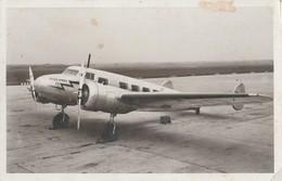 CPA AVION LOCKHEAD BRITISH AIRWAYS LIGNE PARIS LONDRES - Avions