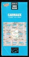 Carte IGN - 2341 Ouest - Carmaux - 1 / 25 000 - 1985 - Topographische Kaarten