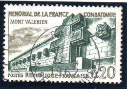 "RESISTANCE - 20c  ""Mont Valérien""  N° 1335Obl. - France"