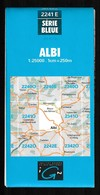 Carte IGN - 2241 Est - Albi - 1 / 25 000 - 1985 - Topographische Kaarten