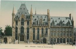 CPA - Belgique - Brugge - Bruges - Palais Du Gouvernement - Brugge