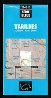 Carte IGN - 2146 Est - Varilhes - 1 / 25 000 - 1987 - Topographische Kaarten