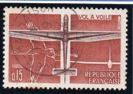 """SPORTS - 15c  """"Vol à Voile""""  N° 1340Obl. - Oblitérés"""