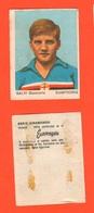 Calcio Figurine Squadra Sampdoria Salvi G.Carlo 1967 Calciatori Collezione Euroregalo - Adesivi