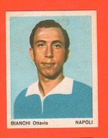 Calcio Figurine Squadra Napoli Bianchi Ottavio 1967 Calciatori Collezione Euroregalo - Adesivi