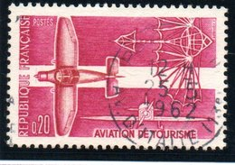 """SPORTS - 20c  """"Aviation De Tourisme""""  N° 1341Obl. - Oblitérés"""