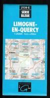 Carte IGN - 2139 Est - Limogne En Quercy - 1 / 25 000 - 1986 - Topographical Maps