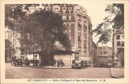 75- PARIS METRO PELLEPORT ET RUE DU SURMELIN - Arrondissement: 10