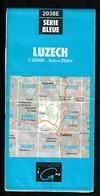 Carte IGN - 2038 Est - Luzech - 1 / 25 000 - 1985 - Cartes Topographiques