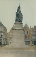 CPA - Belgique - Brugge - Bruges - Statue Breydel Et De Conninck - Brugge