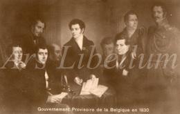 CPA / Postcard / Belgique / België / Voorlopig Bewind / Belgische Revolutie / 1830 / Révolution Belge / Unused - Patriotiques