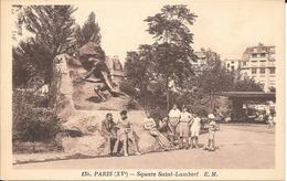 75- PARIS  SQUARE SAINT LAMBERT - District 15