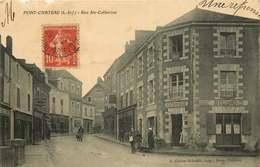 LOIRE ATLANTIQUE  PONTCHATEAU   Rue Sainte Catherine - Pontchâteau