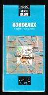 Carte IGN - 1536 Ouest - Bordeaux - 1 / 25 000 - 1994 - Cartes Topographiques