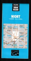 Carte IGN - 1528 Est - Niort - 1 / 25 000 - 1987 - Cartes Topographiques