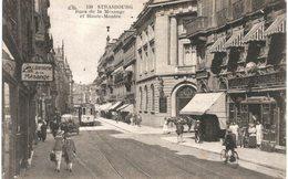 Strasbourg - Rues De La Mésange Et Haute Montée -  Tramway - Strasbourg