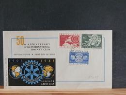 A9698   FDC BELGE   1954   NR.  952/4  COTE   12 - FDC