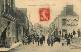 LOIRE ATLANTIQUE  PONTCHATEAU   Route De Saint Gildas Des Bois - Pontchâteau