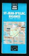 Carte IGN - 1437 Est - St Jean D'Illac - Biganos - 1 / 25 000 - 1996 - Cartes Topographiques