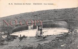 62 - Environs Du Portel - Equihen - Une Cahute - 1917 - Le Portel