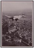 DT- Reich (008268) Propaganda Sammelbild Adolf Hitler Bild 14, Mit Der D-2600 über Nürnberg Ankunft - Deutschland