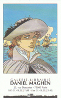 JUILLARD : Carte Visite GALERIE MAGHEN , Eo Car Sans Copyright - Juillard