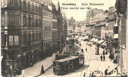 Strasbourg - Vieux Marché Aux Vins - Tramway - Strasbourg