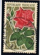 """FAUNES ET FLORES - 20c  """"Rose""""  N° 1356 Obl. - Oblitérés"""