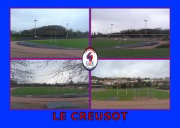 LE CREUSOT Stade Jean Garnier Stadium Estadio - Le Creusot