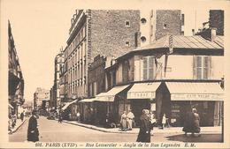 75- PARIS  - RUE LEMERCIER ANGLE DE LA RUE LEGENDRE - District 17