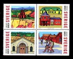 SUEDE 2004 - YT 2376/2379  - Facit 2411/2414 - Neuf ** MNH - La Ville Minière De Falum - Sweden