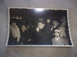 N/    CARTE PHOTO FETE  FORAINE TIR A LA CARABINE  1930 - Spectacle