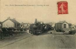 LOIRE ATLANTIQUE  SAINT BREVIN LES PINS  L'arrivée Du Train - Saint-Brevin-les-Pins