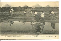 85 - LES SABLES D'OLONNE / MARAIS SALANTS - PALUDIERS AU TRAVAIL - Sables D'Olonne