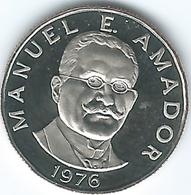 Panama -10 Centésimos - 1976 - Manuel Amador - KM36 - Panama