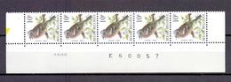 2804 ZWARTE MEES DATUMSTRIP 5I99 POSTFRIS** A355 - 1985-.. Birds (Buzin)