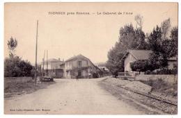 5162 - Riorges ( 42 ) Près Roanne - Le Cabaret De L'Ane ) - Mme Lafay-Besacier édit. à Roanne - - Riorges