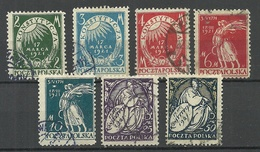 POLEN Poland 1921 Michel 164 - 170 O - 1919-1939 Republik