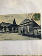Calville - Bureau Des Postes - Autres Communes