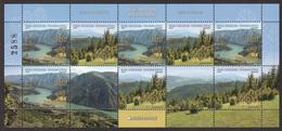 Bosnia Serbia 2019  Nature Protection The Drina National Park River Tree Forest, Mini Sheet MNH - Bosnia And Herzegovina