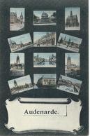 AUDENARDE - OUDENAARDE : CPA Multivues - Cachet De La Poste 1907 - Oudenaarde