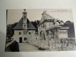 """Aa006 Chateau De KERJEAN  Chemin De Ronde  Et Chapelle """" COLLECTION MICHEL ROUSSIER"""" - Saint-Vougay"""