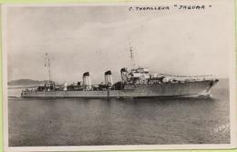"""Contre-Torpilleur  """"JAGUAR""""   / Photo Marius Bar, Toulon / Marine - Bateaux - Guerre - Militaire - Guerra"""