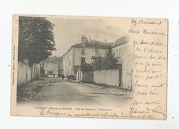 BLAMONT (MEURTHE ET MOSELLE) RUE DES CAPUCINS PENSIONNAT 1902 - Blamont
