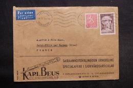 FINLANDE - Enveloppe Commerciale De Helsinki Pour La France En 1959 - L 33390 - Finland