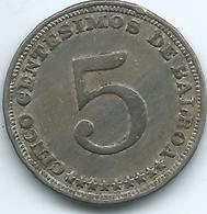Panama -5 Centésimos - 1932 - KM9 - Panama