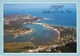 22 - Erquy - Vue Générale Du Passage De La Roche Du Marais - Vue Aérienne - Voir Scans Recto-Verso - Erquy
